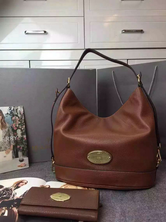 2015 Latest Mulberry Oak Jamie Bucket Bag for sale