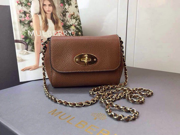 2015 Spring/Summer Mulberry Mini Lily Bag in Oak