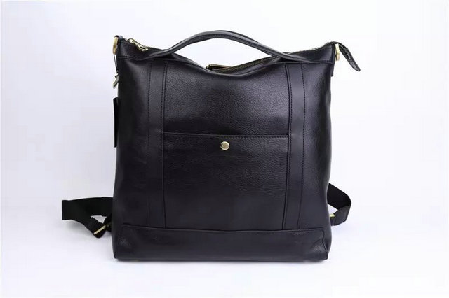 2015 Cheap Mulberry Mens Multitasker Backpack Black Leather