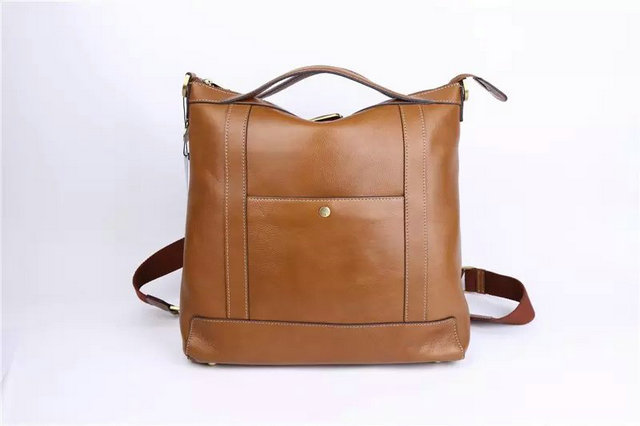 2015 Cheap Mulberry Mens Multitasker Backpack Camel Leather