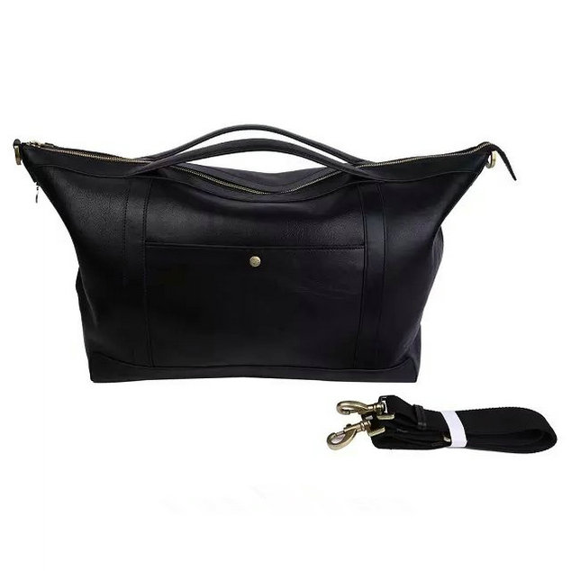 2015 Cheap Mulberry Mens Multitasker Holdall Black Leather