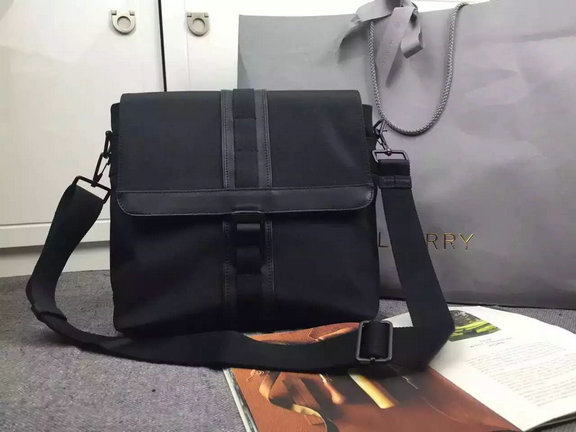 2015 Cheap Mulberry Mens Small Fleet Messenger Charcoal Coated Canvas