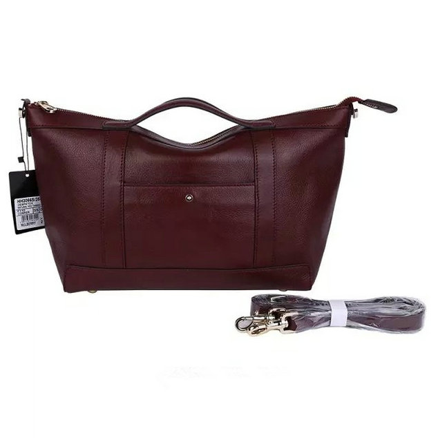 2015 Cheap Mulberry Small Multitasker Holdall Oxblood Leather