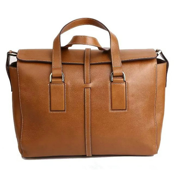 2015 Autumn/Winter Mulberry Roxette Satchel Oak Calfskin Leather