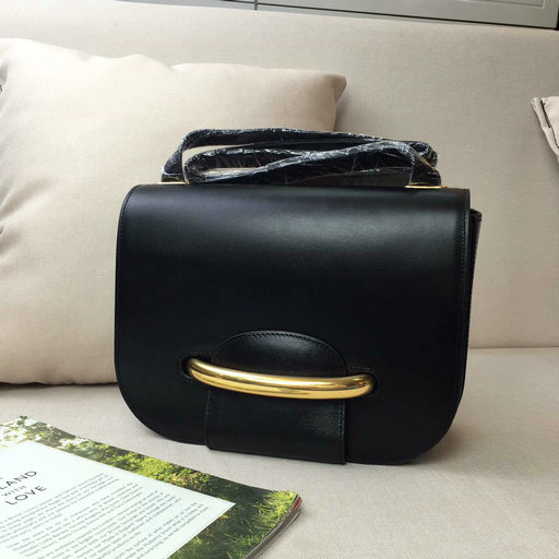 2016 Latest Mulberry Selwood Satchel Bag Black Crossboarded Calf Leather