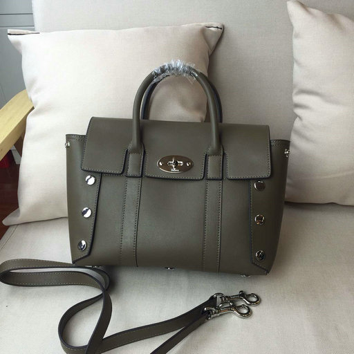 2016 Latest Mulberry Small New Bayswater Clay Smooth Calf with Studs