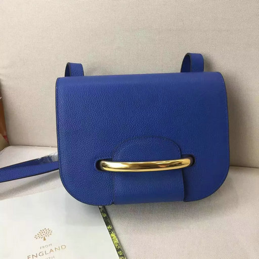 2017 S/S Mulberry Selwood Bag in Porcelain Blue Small Classic Grain Leather