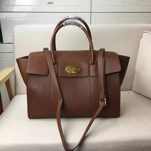 2017 S/S Mulberry Bayswater with Strap Oak Grain Leather