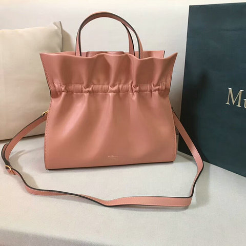 2018 Mulberry Lynton Bag in Nude Pink Leather