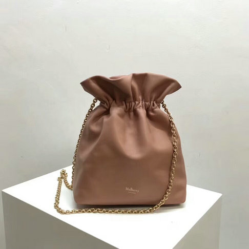 f307797c2813 2018 Mulberry Lynton Mini Bucket Bag in Pink Leather  SS201852 ...