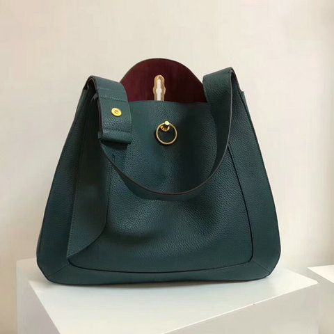 2018 Mulberry Marloes Hobo Imperial Blue Grain Leather