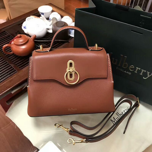 8db393f6be70 2018 S S Mulberry Mini Seaton Bag in Tan Silky Calf Leather  5060T ...