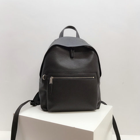 2019 Mulberry Zipped Backpack Black Small Classic Grain