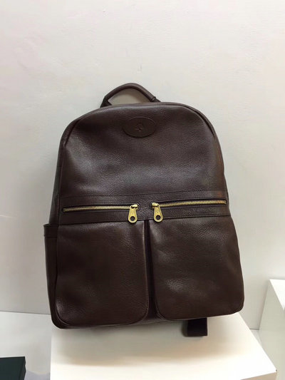 Classic Mulberry Henry Backpack in Chocolate Leather