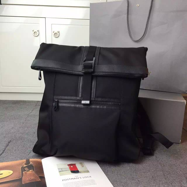 2015 Cheap Mulberry Mens Fleet Backpack Charcoal Coated Canvas