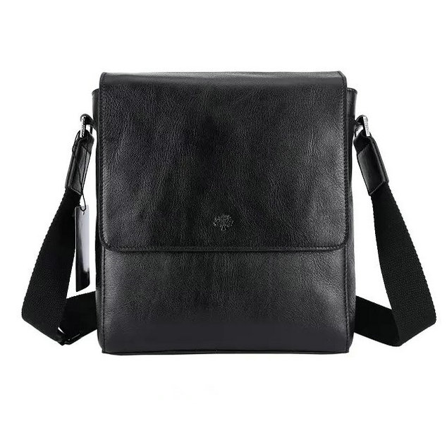 2015 Mulberry Maxwell Small Messenger Bag Black for Men