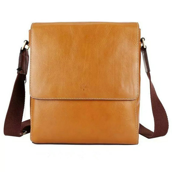 2015 Mulberry Maxwell Small Messenger Bag Oak for Men