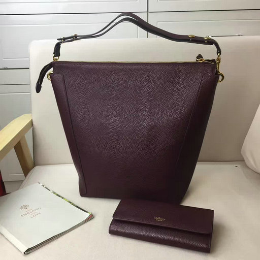 2017 S S Mulberry Camden Bag in Oxblood Grain Leather  SS201722 ... b4b920ccd7f87