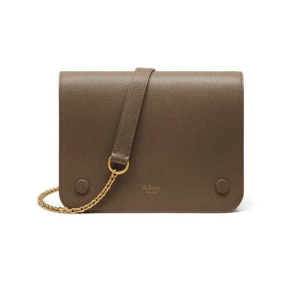 2016 Latest Mulberry Clifton Crossbody Bag Clay Small Classic Grain