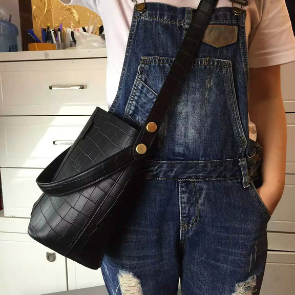 5ba1f686b1 2016 Latest Mulberry Small Kite Tote in Black Croc Leather  201624 ...