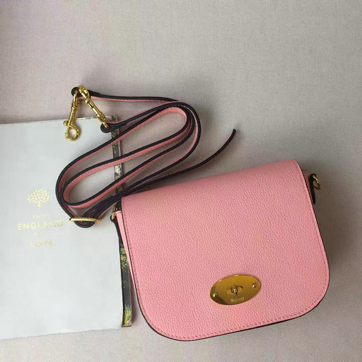 2017 S S Mulberry Small Darley Satchel in Macaroon Pink Small ... c2428cd0118e0