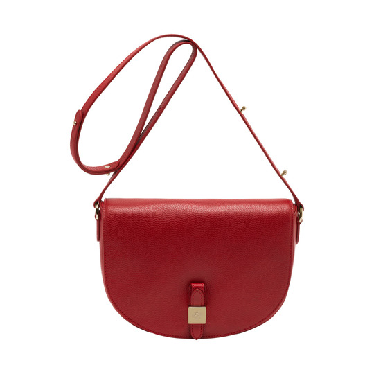 2014 Latest Mulberry Tessie Satchel in Poppy Red