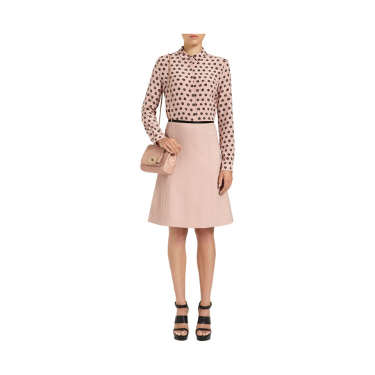 Mulberry Lily Ballet Pink Ostrich - Click Image to Close